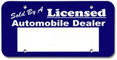 temporary tag template temporary license plate car interior design