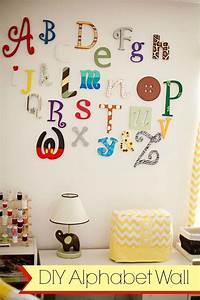 diy wooden alphabet wall letters tutorial playroom With diy letters for the wall