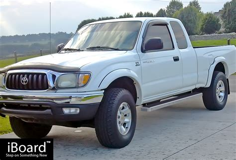 iboard running boards nerf bars fit   toyota tacoma