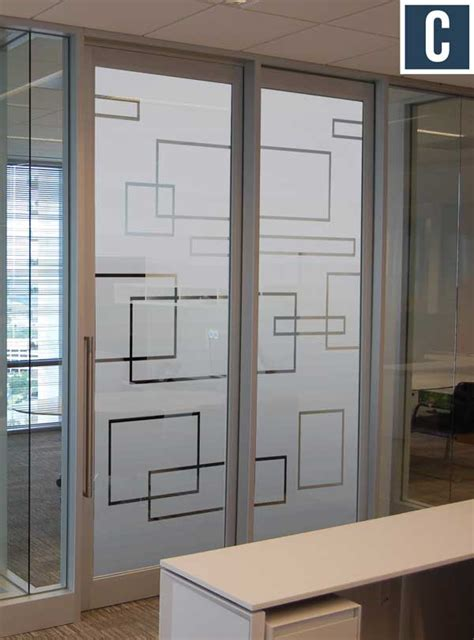 Privacy Vinyl for Glass Doors   Frosted Vinyl for