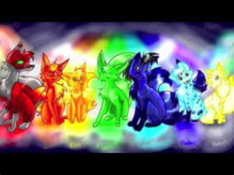 Anime Rainbow Wolf Wallpaper anime wolves colors of the rainbow