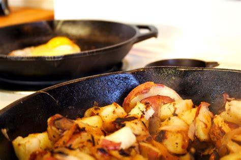 cottage fried potatoes round the chuckbox saturday morning breakfast