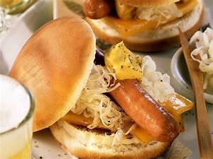 Hot Dog Kalorien : hot dog mit sauerkraut und k se rezept eat smarter ~ Watch28wear.com Haus und Dekorationen