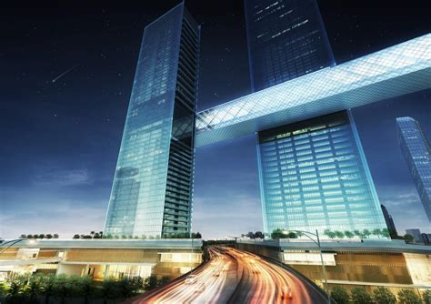 Worlds Largest Cantilever To Link Dramatic Dubai Towers
