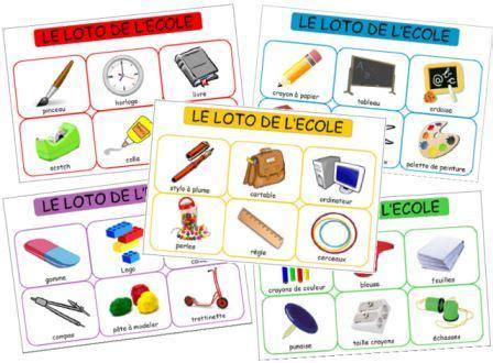 jeux de l ecole de cuisine de gratuit le loto des objets de l 39 école dessine moi une histoire