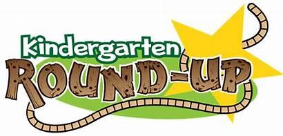 Kindergarten Round Roundup Kinder Flyer District Template