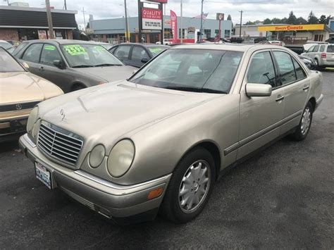 S1000 base security system, full wheel covers, digital clock, value pkg, all weather guard. Used 1996 Mercedes-Benz E-Class E 320 for Sale Right Now - CarGurus