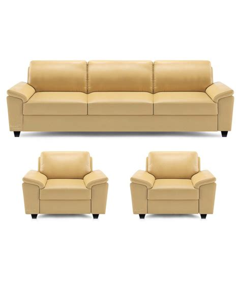 Wooden Sofa Set Shopping by Dolphin Oxford Leatherette 3 1 1 Sofa Set Buy Dolphin