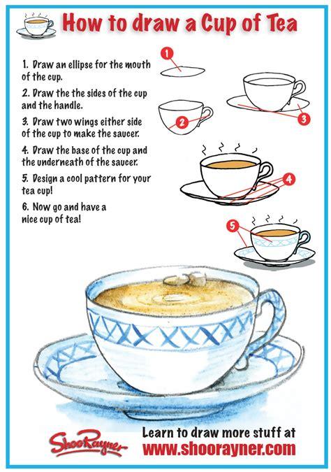 draw  cup  tea shoo rayner author