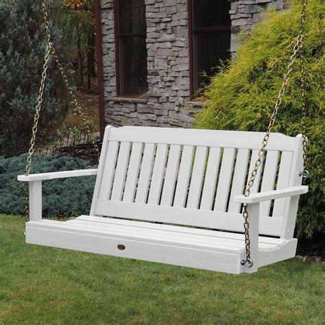 Porch Furniture Sale by Highwood 5 Lehigh Synthetic Wood Porch Swing Rocking
