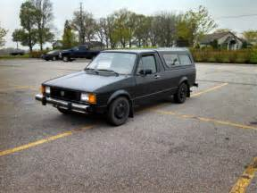 vw diesel eintauschprämie 1981 vw rabbit caddy diesel truck volkswagen 151k 1 6d w topper for sale photos