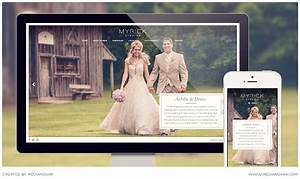Wedding photography website myrick cowart for Wedding photography website design
