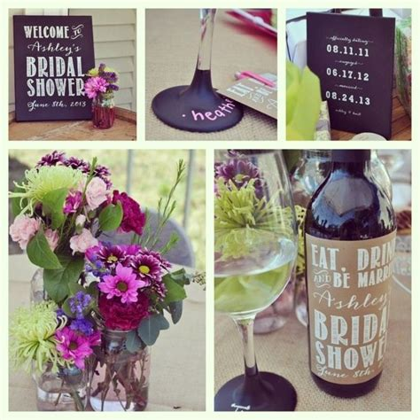 ideas  wine theme shower  pinterest wine