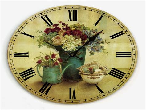country clocks for kitchen kitchens decor country kitchen wall clock country style 5945