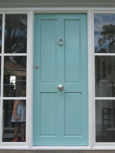 gray house blue door search front doors