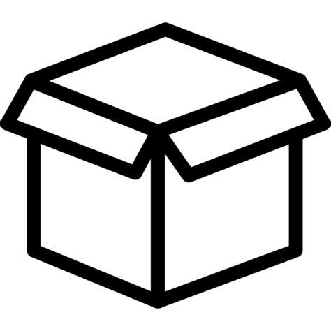 mailbox icon transparent box open icon line iconset iconsmind