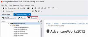 How to automatically generate SQL Server documentation