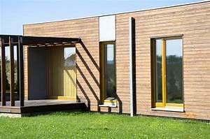 Kit Extension Bois Toit Plat : extension de maison en toit plat extension ~ Farleysfitness.com Idées de Décoration