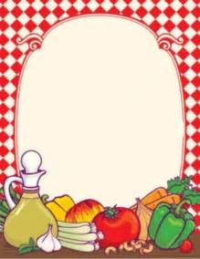 Food Borders Clip Art Free