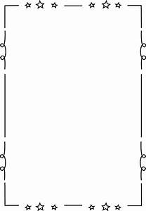 Free Printable Clip Art Borders For Teachers Loopy Star