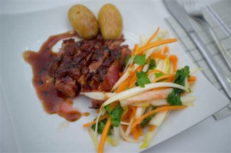 gastrique cuisine magret de canard et gastrique au fruit de la la