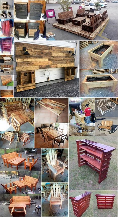 crafting with wood pallets awesome crafting ideas with used shipping pallets pallet wood projects