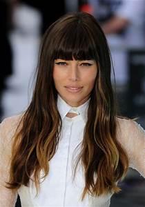 Fall Hairstyles 2012 Blunt Bangs Fashionandbeautyscene