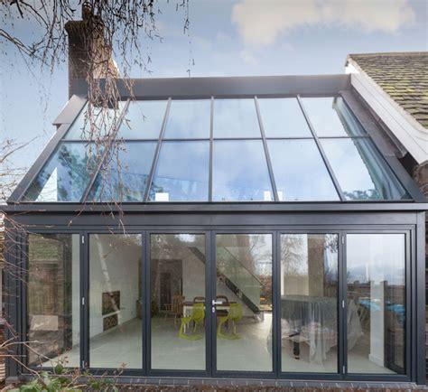 glazed extension  leicestershire alumen