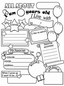 Best 25 all about me ideas on pinterest all about me for About me template for students