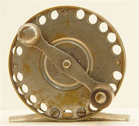 julius vom hofe julius vom hofe perforated reel american museum of fly fishing