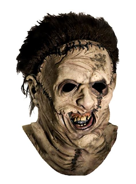 leatherface deluxe latex mask