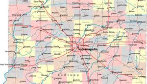 Indianapolis and Surrounding Area Maps