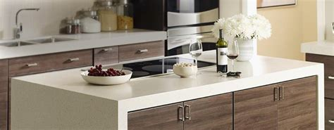 White Laminate Countertops by Solid Surface And Laminate Countertops The Home Depot