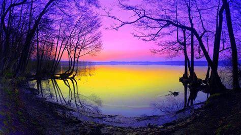 gambar pemandangan alam danau  gambar pemandangan