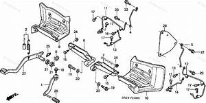 Honda Atv 2000 Oem Parts Diagram For Step    Pedal   U0026 39 99