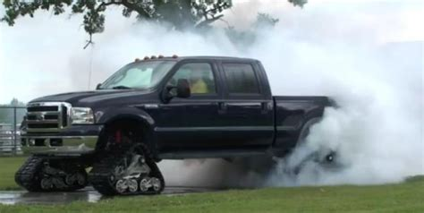 tire smokin tuesday modified ford   roasts  rear