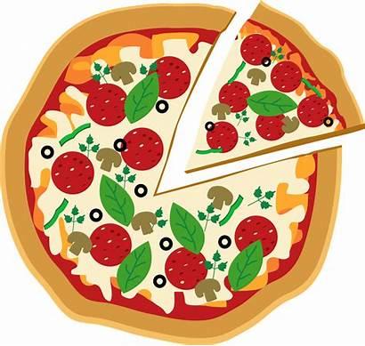 Pizza Clip Clipart Happy Profile Luh Minus