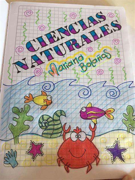 best 10 caratulas para cuadernos escolares ideas on dibujos para caratulas