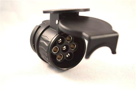 pin trailer caravan plug adapter   pin towbar socket