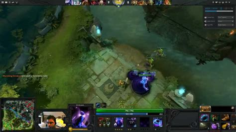 dota 2 invoker gameplay with commentary youtube