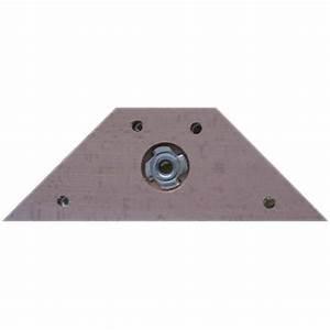 Pied De Lit En Bois : equerre fixation bois pied de lit l 175mm l 55mm achat ~ Premium-room.com Idées de Décoration