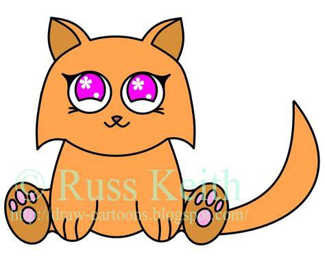 draw cartoons anime cat