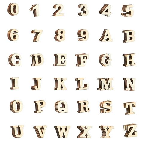 wooden letters  count wood alphabet letters