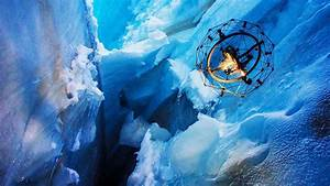 Watch this Flying Spheroid Drone Explore a Glacial Ice ...
