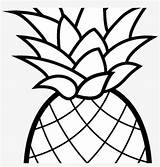 Pineapple Coloring Pages Clipart Cartoon Camping Nicepng sketch template