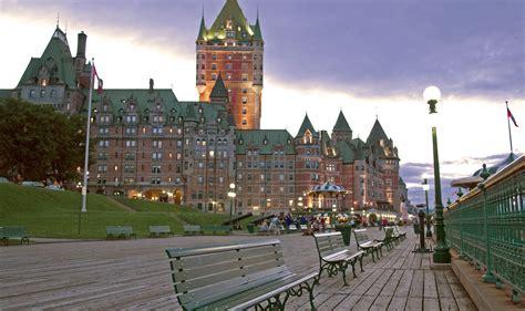 Fairmont Chateau Frontenac Quebec City Canadian Affair