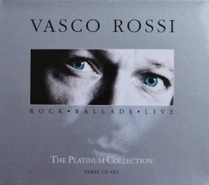 vasco rossi  platinum collection  cd