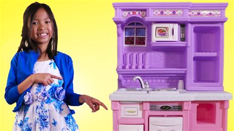 Wendy Pretend Play With Purple Kitchen Toy Youtube