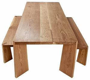 Solid Oak Dining Table - Contemporary - Dining Tables