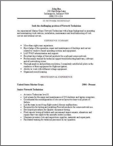 To Civilian Resume Template by Resume Templates To Civilian Sle Resume
